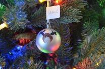 Aiden made this in Kindergarten or Gr. 1.