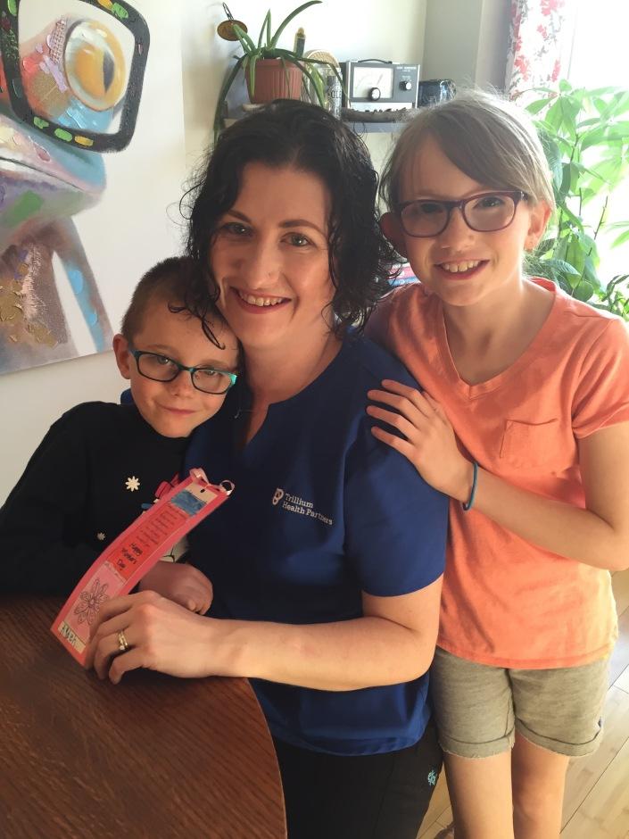 Abby, Aiden & Mommy