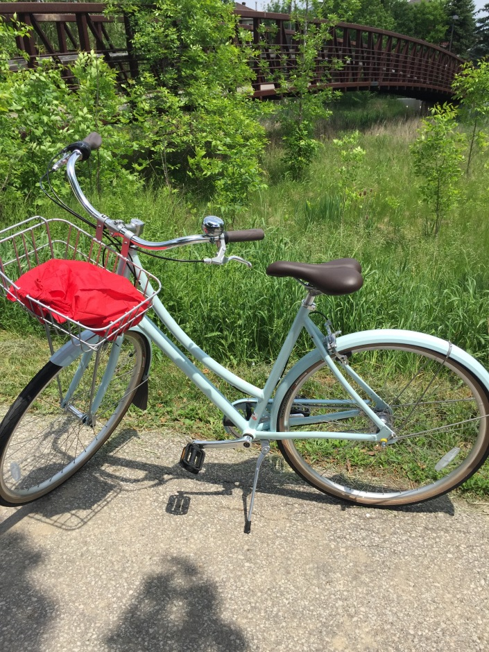 Melissa's New Bike