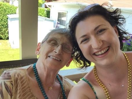 Melissa and Auntie Joyce Selfie