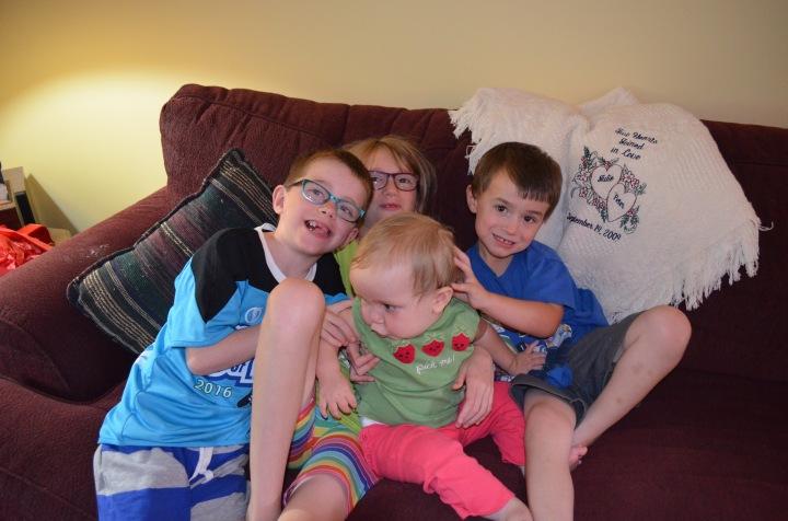 Aiden, Abby, Eva & Macklan