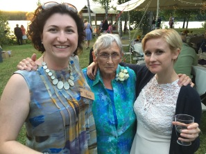 Melissa with Auntie Joyce & Shauna