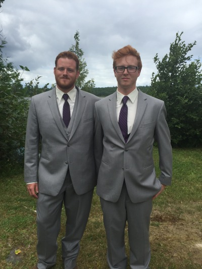 Philip with his brother Lucas