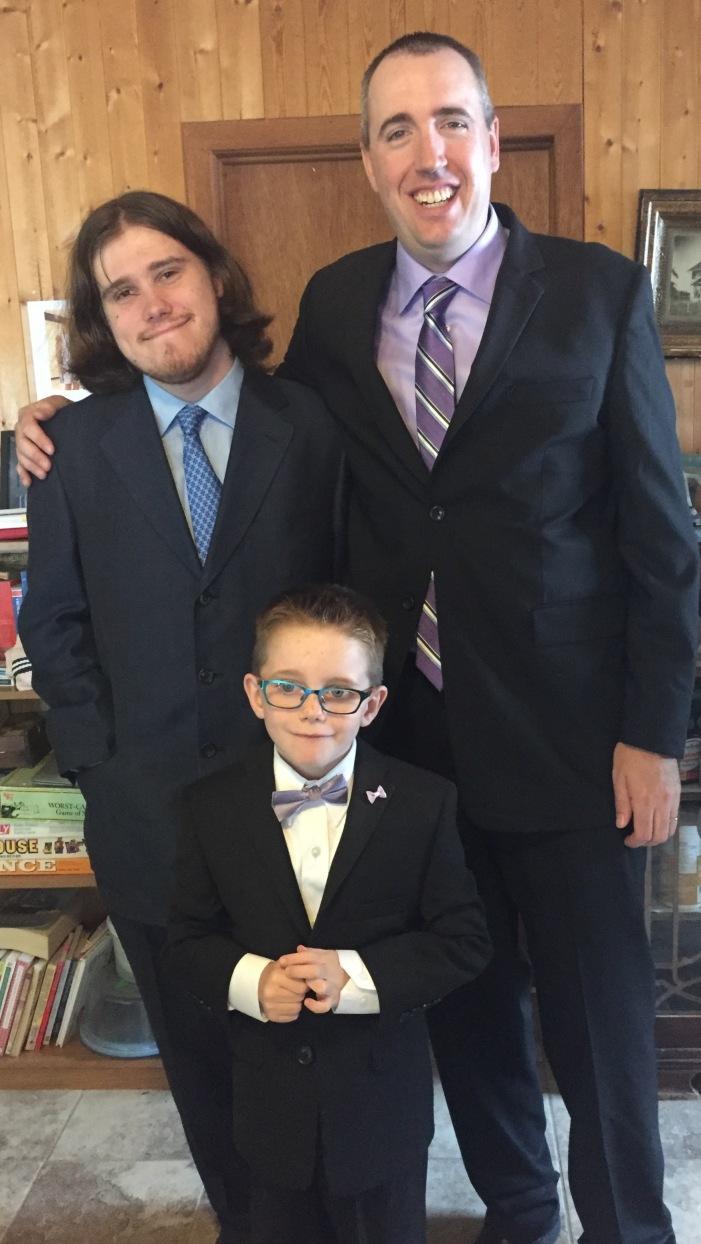 Peter, Oren & Aiden