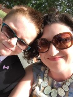 Melissa & Aiden selfie