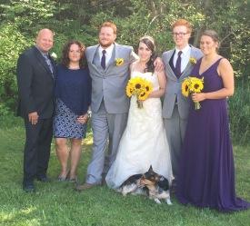 Family Pic: Aaron, Chantale, Philip, Stephanie, Lucas, Stephanie & Milo