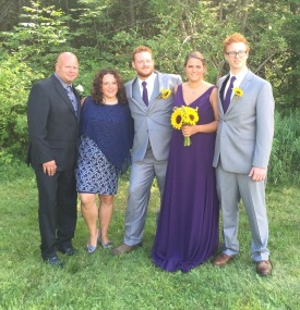Family Pic: Aaron, Chantale, Philip, Stephanie & Lucas