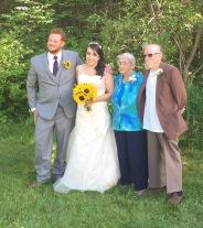 L-R: Philip, Stephanie, Joyce, Al.
