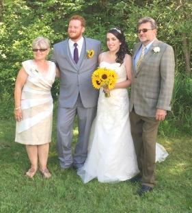 Yvonne, Philip, Stephanie and Don