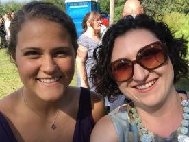 Melissa & Stephanie selfie