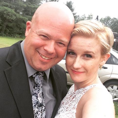 Aaron & Shauna Selfie