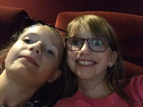 Abby & Ava Selfie @ the Theatre