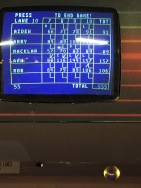 Final Score of Kids/Adults game: Mom won