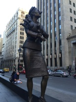 Statue in downtown Montreal