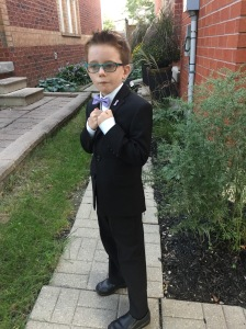 Aiden Gr. 3 looking handsome