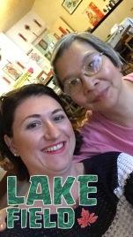 Melissa & Sandra selfie