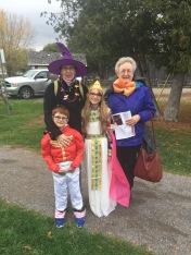 Aiden, Grandma, Aiden and Mama at Lang
