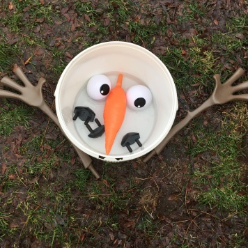 Sad Snowman