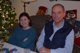Melissa & Craig at dinner