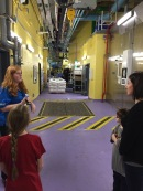 A view from behind the scenes at Ripleys Aquarium