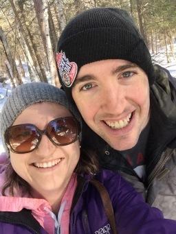 Melissa & Peter selfie