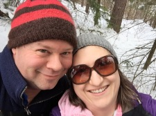 Uncle Aaron & Melissa selfie