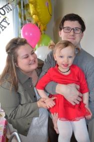 Megan, Shawn & Violet. One big happy family!!!