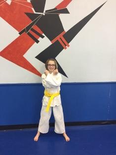 Abby Yellow belt Grading_Feb 2017