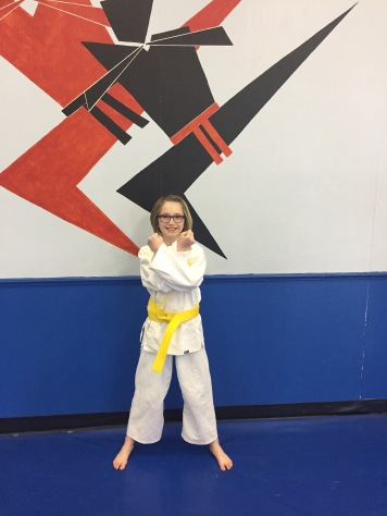 Abby Yellow belt Grading_Feb 2017