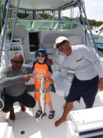 Aiden with his barracuda