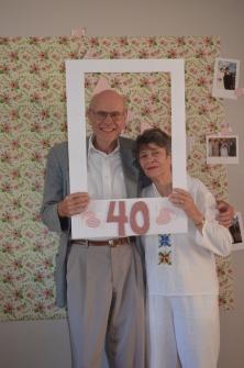 Bruce & Jackie 40th Anniversary: Oct 1, 2017