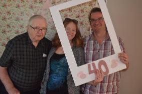 Bernard, with Peter & Julie Alispn