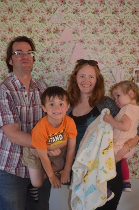Family Portrait with Peter, Julie, Macklan and Eva