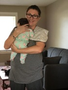 Melissa with Baby Shelby