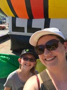Abby & Mommy selfie