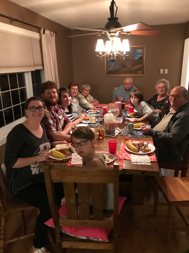 Visit from Philip, Stephanie, Shelby & Auntie Joyce: Oct 2017