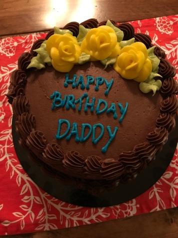Peter's birthday cake