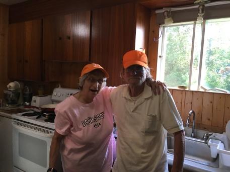 Auntie Joyce with Uncle Al
