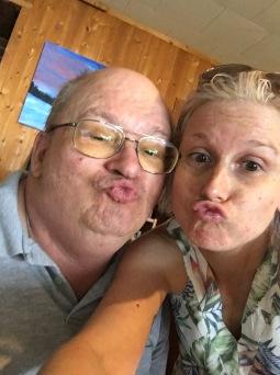 Bruce & Shauna selfie