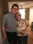 Shawn with Auntie Joyce