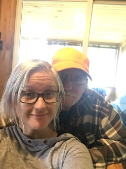 Shauna & Uncle Al selfie