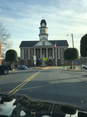 Council Building in Pittsboro