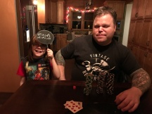 Uncle Jason & Aiden on New Year's Eve