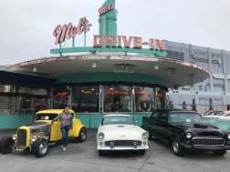 """Melissa at """"Mel's Drive In"""""""