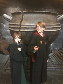 Abby & Aiden at The Leaky Cauldron