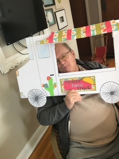 Grandpa Bruce at Violet's Taco Truck