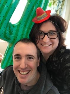 Peter & Melissa Cain selfie