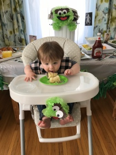 Oscar's 1st birthday party: Feb 18, 2018