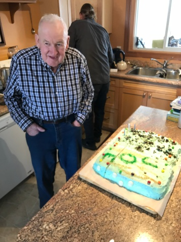 Uncle Joe's 80th Birthday: March 11, 2018