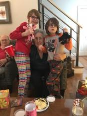 Mama with her grandchildren